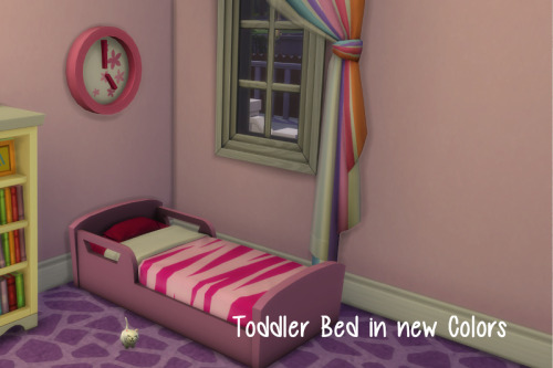 Toddler Bed In New Colors At ChiLLis Sims Sims 4 Updates