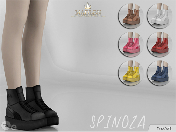 Madlen Spinoza Shoes by MJ95 at TSR image 2213 Sims 4 Updates
