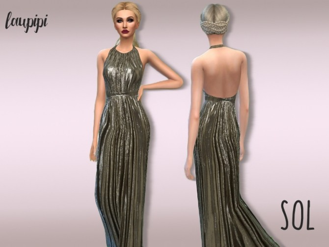 Sims 4 Sol dress at Laupipi