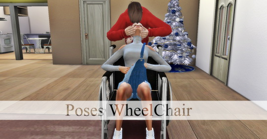 Wheel Chair poses  pack at Simsnema image 2241 Sims 4 Updates