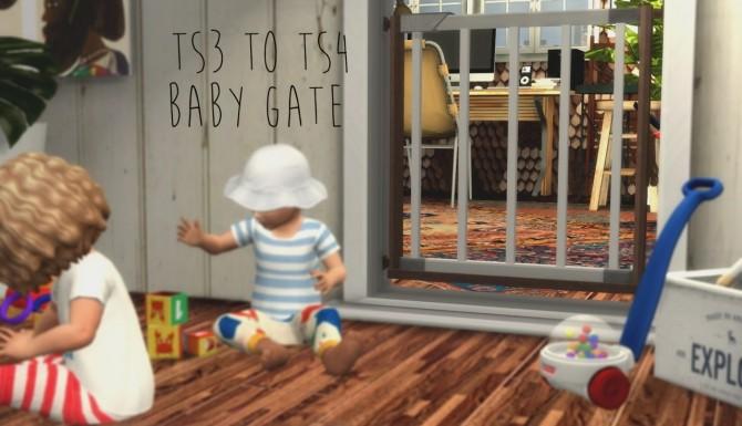 Deco baby gate at ichosim 187 sims 4 updates