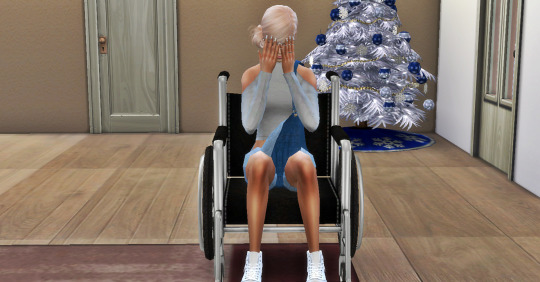 Wheel Chair poses  pack at Simsnema image 2251 Sims 4 Updates