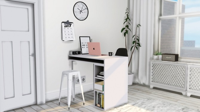 Sims 4 Office set at MXIMS