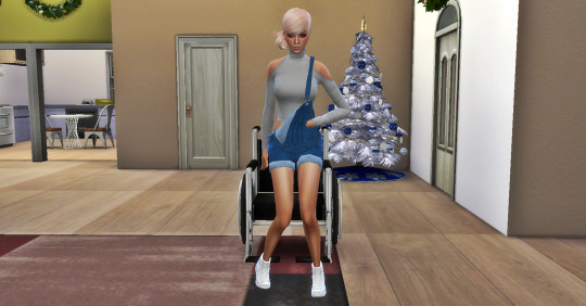 Wheel Chair poses  pack at Simsnema image 2271 Sims 4 Updates