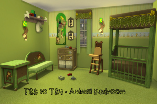 S3 to S4 Animal Bed & Bathroom UPDATED Set at ChiLLis Sims image 2318 Sims 4 Updates