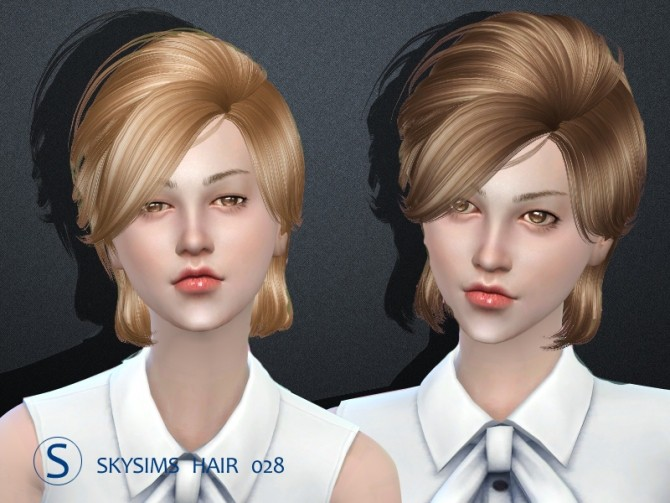 Sims 4 Skysims hair 028 Female&Male (Pay) at Butterfly Sims