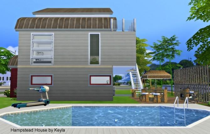 Sims 4 Hampstead House at Keyla Sims