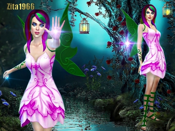 The Tree Fairy Set By Zitarossouw At Tsr 187 Sims 4 Updates