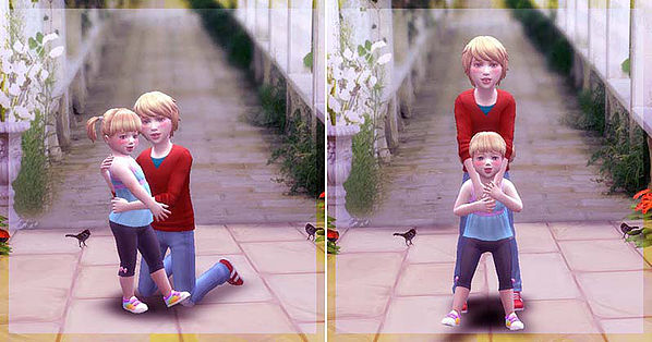 Pose Brothers & Sisters pose 02 at A luckyday image 2454 Sims 4 Updates