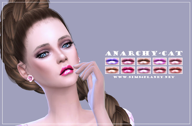 Lips #3 at Anarchy Cat image 2461 Sims 4 Updates