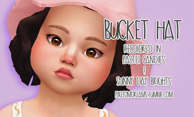 Bucket Hat Recolors at Pixelsimdreams image 2464 Sims 4 Updates
