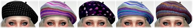 Base Game compatible Hats Mix at Jenni Sims image 247 670x99 Sims 4 Updates