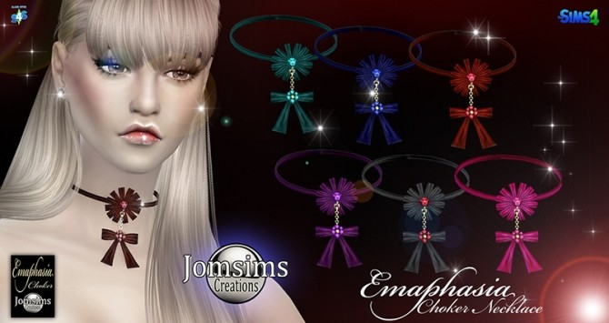Emaphasia choker at Jomsims Creations image 2471 670x355 Sims 4 Updates