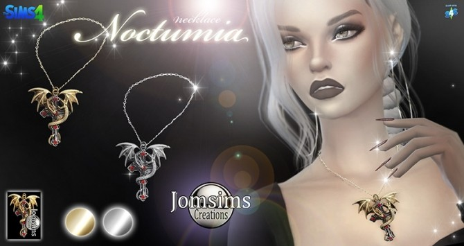 Noctumia necklace at Jomsims Creations image 2481 670x355 Sims 4 Updates
