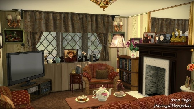4 Privet Drive House At Frau Engel 187 Sims 4 Updates