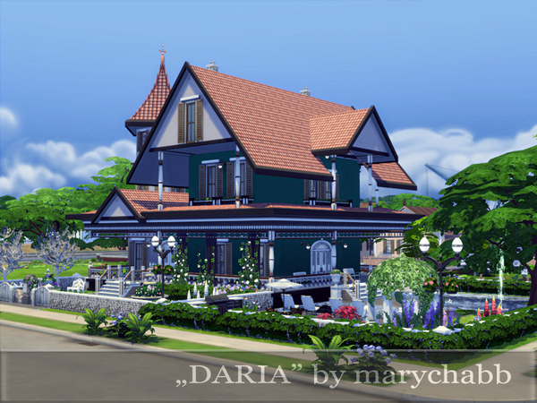 Daria house by marychabb at TSR image 2525 Sims 4 Updates