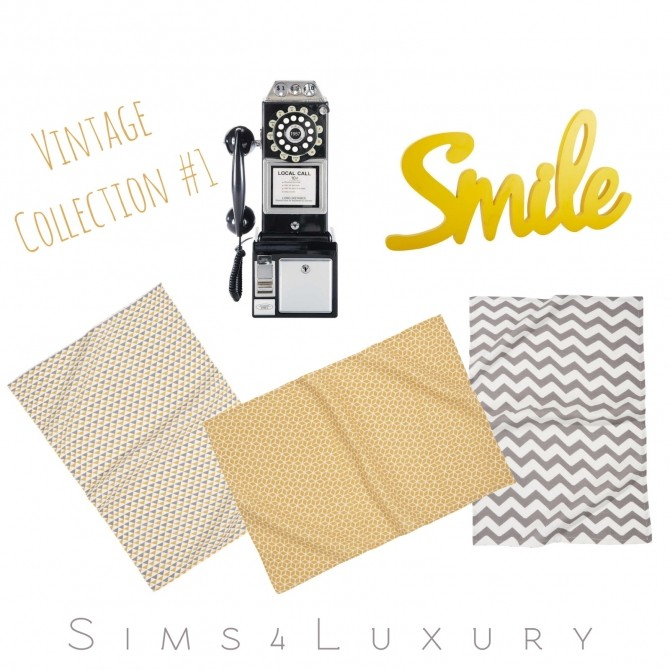 Sims 4 Vintage collection #1 at Sims4 Luxury