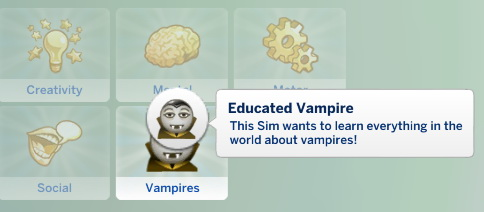 Sims 4 Supernatural Set: Fan trait and aspiration for Child Sims at Zerbu