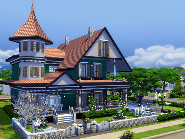 Daria house by marychabb at TSR image 2627 Sims 4 Updates