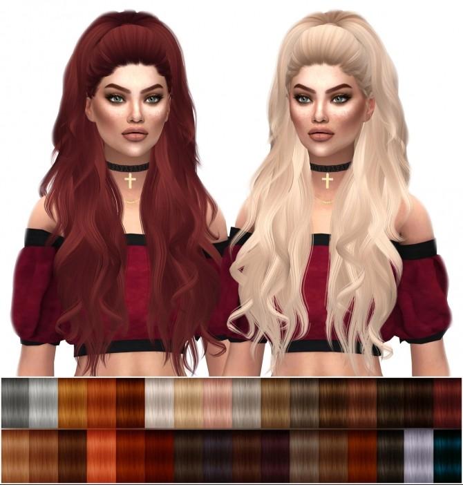 Anto Atenea Natural Hair Recolors at Kenzar Sims image 2628 670x702 Sims 4 Updates