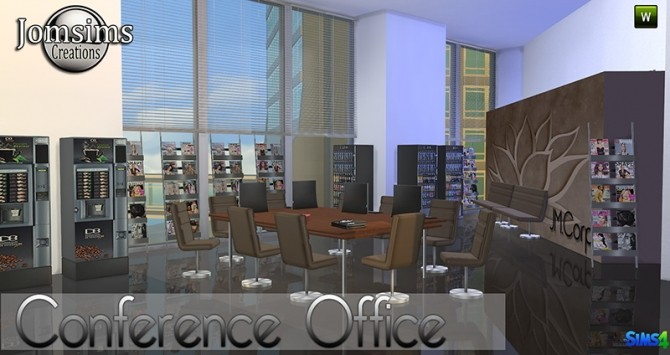 Conference Office at Jomsims Creations image 264 670x355 Sims 4 Updates