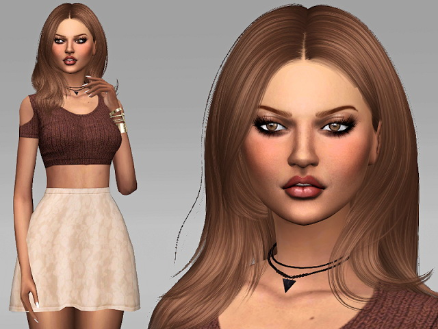 Karina Kimball by Margeh75 at Sims Addictions image 2651 Sims 4 Updates