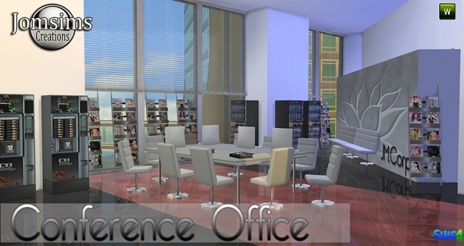 Conference Office at Jomsims Creations image 266 670x355 Sims 4 Updates