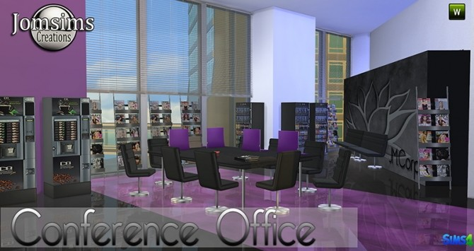 Conference Office at Jomsims Creations image 267 670x355 Sims 4 Updates