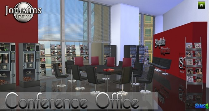 Conference Office at Jomsims Creations image 268 670x355 Sims 4 Updates