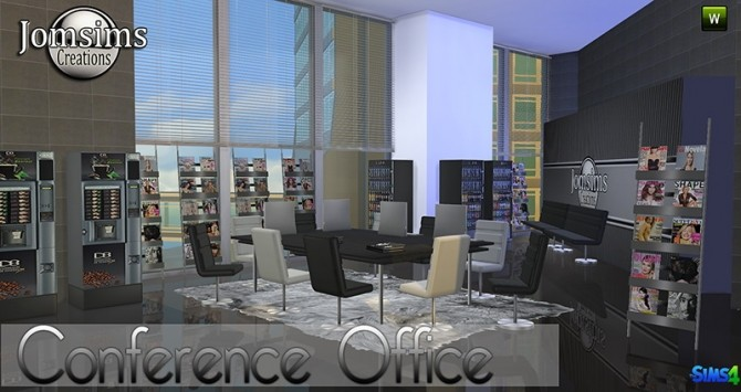 Conference Office at Jomsims Creations image 269 670x355 Sims 4 Updates