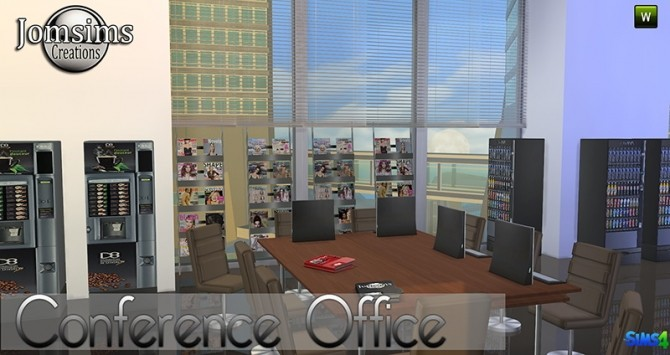 Conference Office at Jomsims Creations image 272 670x355 Sims 4 Updates