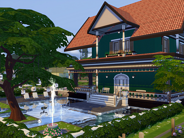 Daria house by marychabb at TSR image 2724 Sims 4 Updates