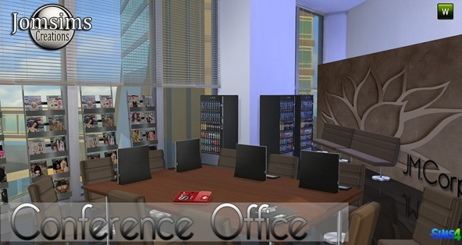 Conference Office at Jomsims Creations image 273 670x355 Sims 4 Updates