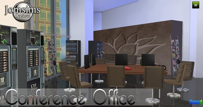 Conference Office at Jomsims Creations image 274 670x355 Sims 4 Updates