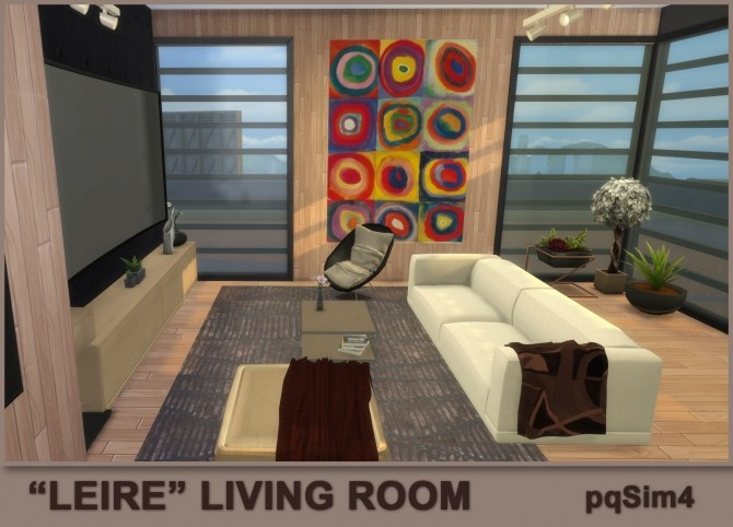 Leire living room by Mary Jiménez at pqSims4 image 2761 670x482 Sims 4 Updates