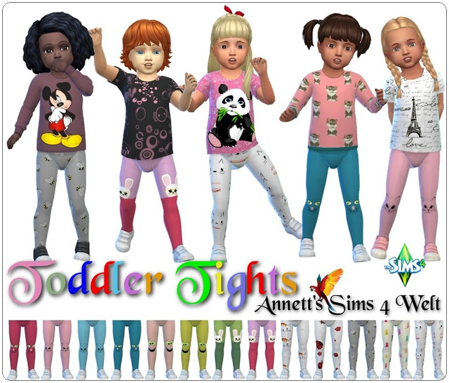 Toddlers Tights Cute at Annett's Sims 4 Welt image 2772 Sims 4 Updates