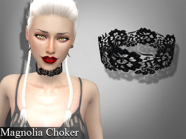 Set lace chokers by Genius666 at TSR image 281 Sims 4 Updates