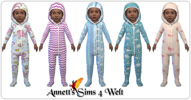 Sims 4 Toddler Jumpsuits at Annett's Sims 4 Welt