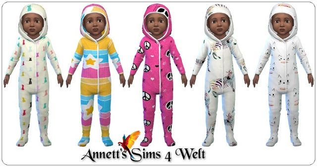 Toddler Jumpsuits at Annett's Sims 4 Welt image 2832 Sims 4 Updates