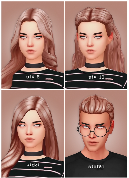 Sims 4 Hair dump at Seven Sims