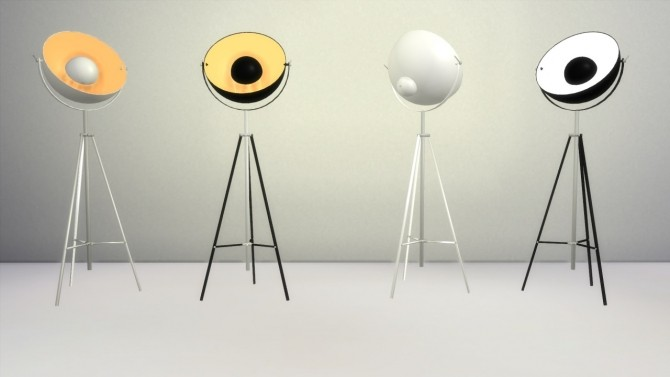 Chicago Floor Lamp at Meinkatz Creations image 288 670x377 Sims 4 Updates