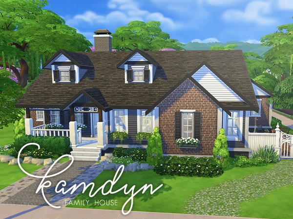 Kamdyn Family House by smubuh at TSR image 2910 Sims 4 Updates
