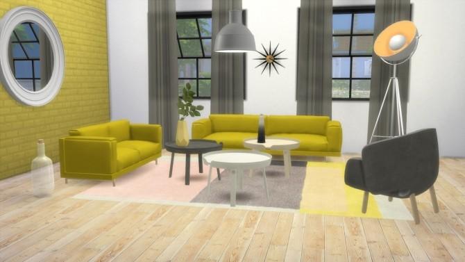 Mid Century Femme Sofa at Hamburger Cakes image 2912 670x377 Sims 4 Updates
