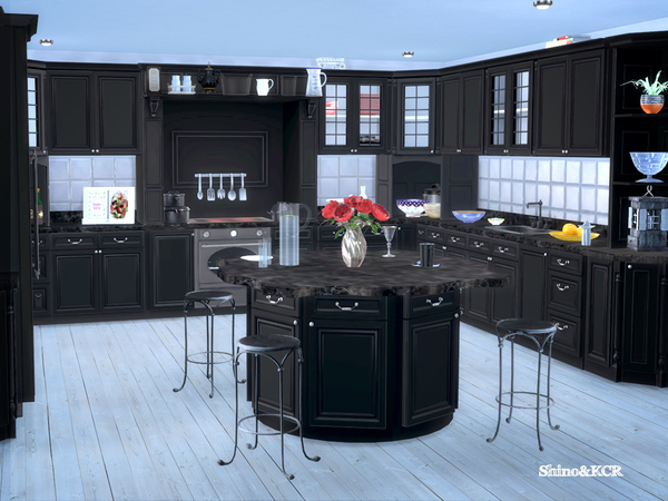 French Country Kitchen by ShinoKCR at TSR image 294 Sims 4 Updates