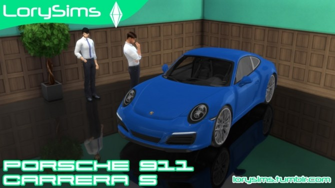 Porsche 911 Carrera S at LorySims image 2941 670x377 Sims 4 Updates