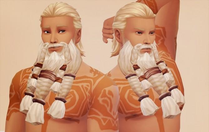 Sims 4 Stormheim World of Warcraft Vrykul conversion at Valhallan