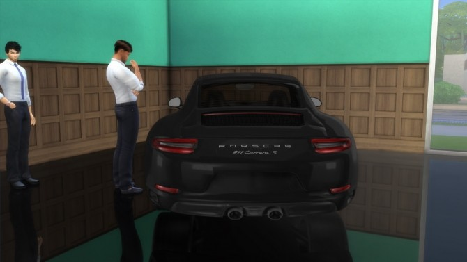 Porsche 911 Carrera S at LorySims image 298 670x377 Sims 4 Updates