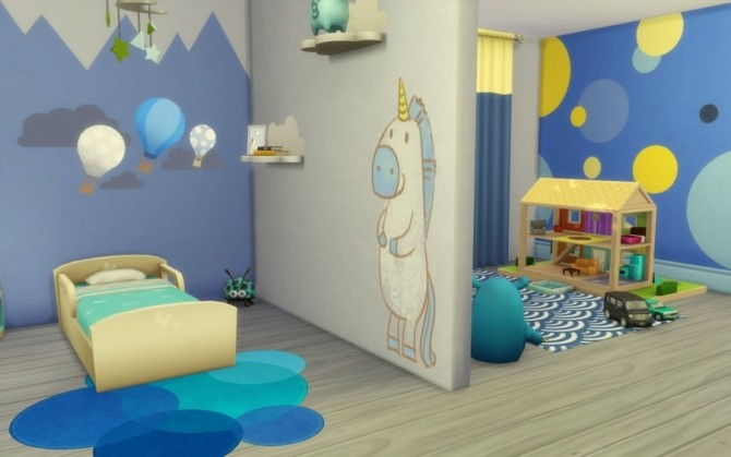 Kidsroom by Bloup at Sims Artists image 2981 670x419 Sims 4 Updates