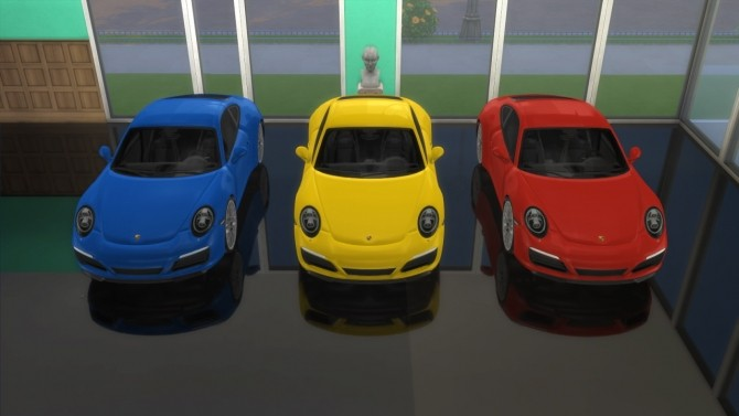 Porsche 911 Carrera S at LorySims image 299 670x377 Sims 4 Updates