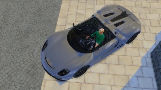 Porsche 918 Spyder Concept at LorySims image 3021 670x377 Sims 4 Updates